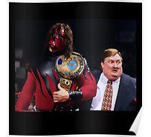 WWE Attitude Era - Kane and His Daddy Poster