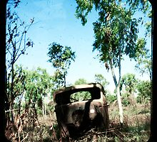 The Old Aussie Ute by Jules Campbell