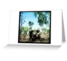 The Old Aussie Ute Greeting Card