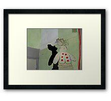 Layers#5 Framed Print
