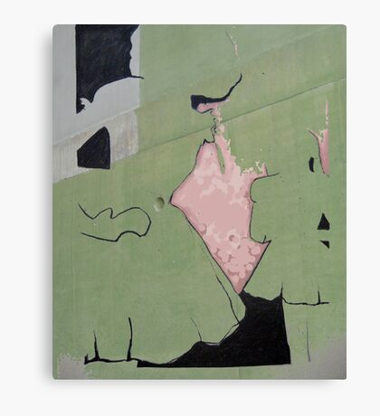 Layers#6 Canvas Print