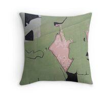 Layers#6 Throw Pillow