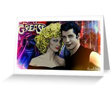 // GREASE IS THE WORD // Greeting Card