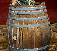 Barrel of Grapes by ericseyes