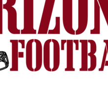 ALL I CARE ABOUT IS ARIZONA FOOTBALL Sticker