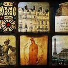 Six Scenes Paris by Melanie  Dooley