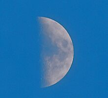 Detailed Moon by Jim Caldwell