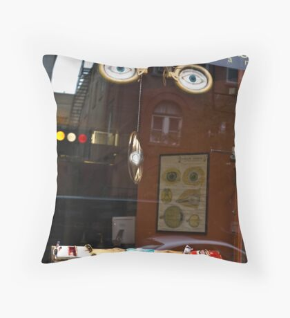 Passive Spectator Throw Pillow