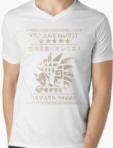 Monster Hunter Required - Rathalos Mens V-Neck T-Shirt
