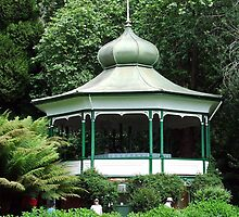 The Rotunda In Cateract Gorge Launceston by wiccanrider