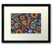 Colours of Happiness. Framed Print