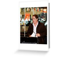 Stefan Nicholson - Poetry@Fed Square Greeting Card