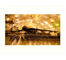 The B 52 ... Work Horse of the Air Force... Art Print
