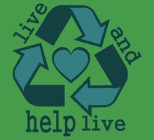 Live and Help Live Tee T-Shirt