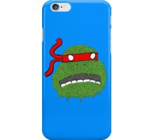 Melting teenage mutant ninja turtle iPhone Case/Skin