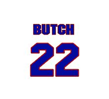 National Hockey player Butch Goring jersey 22 Photographic Print