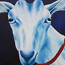 Oliver, my dairy goat by Jane Whittred