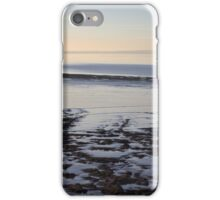 Late Autumn Afternoon at the coast in Clevedon iPhone Case/Skin