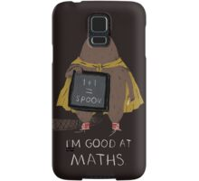 i'm good at maths Samsung Galaxy Case/Skin