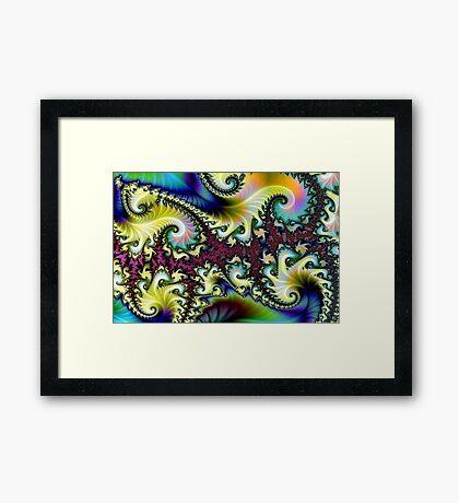 Psychedelic Dream. Framed Print