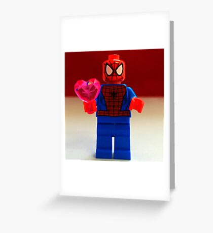 Spider-Man Valentines Greeting Card