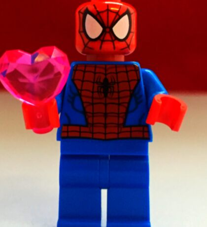 Spider-Man Valentines Sticker