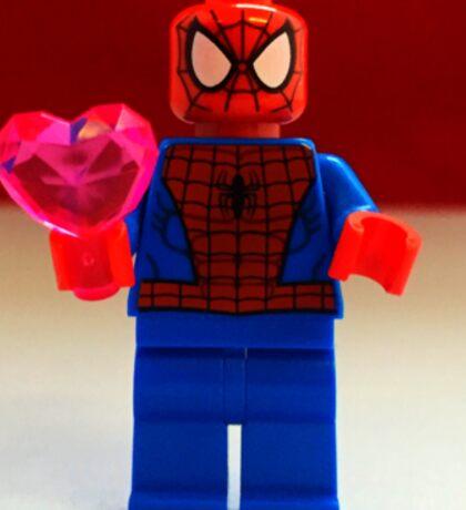 Spider-Man Valentines Sticker