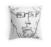 6 O'Clock News Throw Pillow