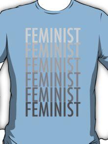 FEMINIST BLACK AND WHITE T-Shirt