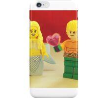 Aquaman Love A Mermaid iPhone Case/Skin