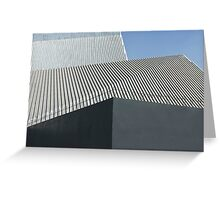 modern architecture detail Greeting Card