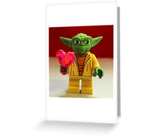 Yoda Valentines Greeting Card