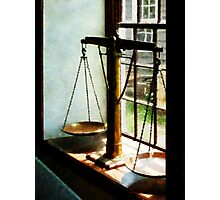 Scales of Justice Photographic Print