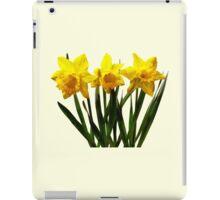 Daffodil Trio iPad Case/Skin