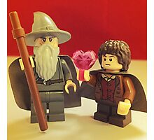 Frodo Loves Gandalf Photographic Print