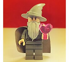 Gandalf Valentines Photographic Print