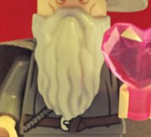 Gandalf Valentines Sticker