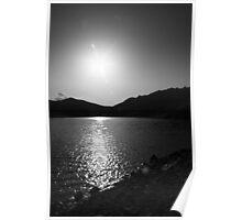 Gross Reservoir Sunset Poster
