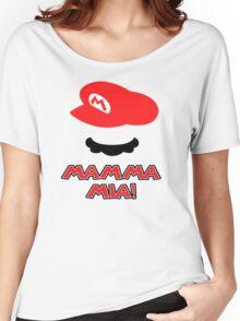 Mario Mamma mia! Women's Relaxed Fit T-Shirt