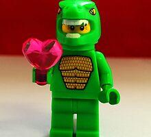Lego Dinosaur Valentines by FendekNaughton