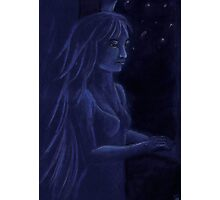 Star Light Blue Dreaming Photographic Print