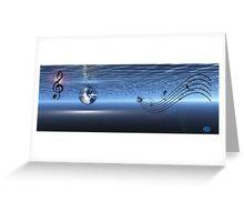 Blue Earth Greeting Card