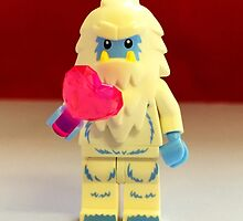 Lego Yeti Valentines by FendekNaughton