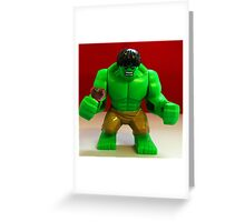 Hulk Valentines Greeting Card