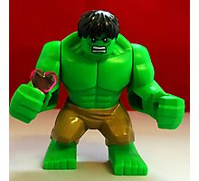 Hulk Valentines Photographic Print