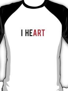 I Heart, love art T-Shirt