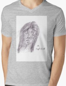Visitor again Mens V-Neck T-Shirt