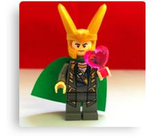 Loki Valentines Canvas Print