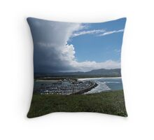 The Storm To Come Throw Pillow