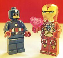 Iron-Man Loves Cap' by FendekNaughton
